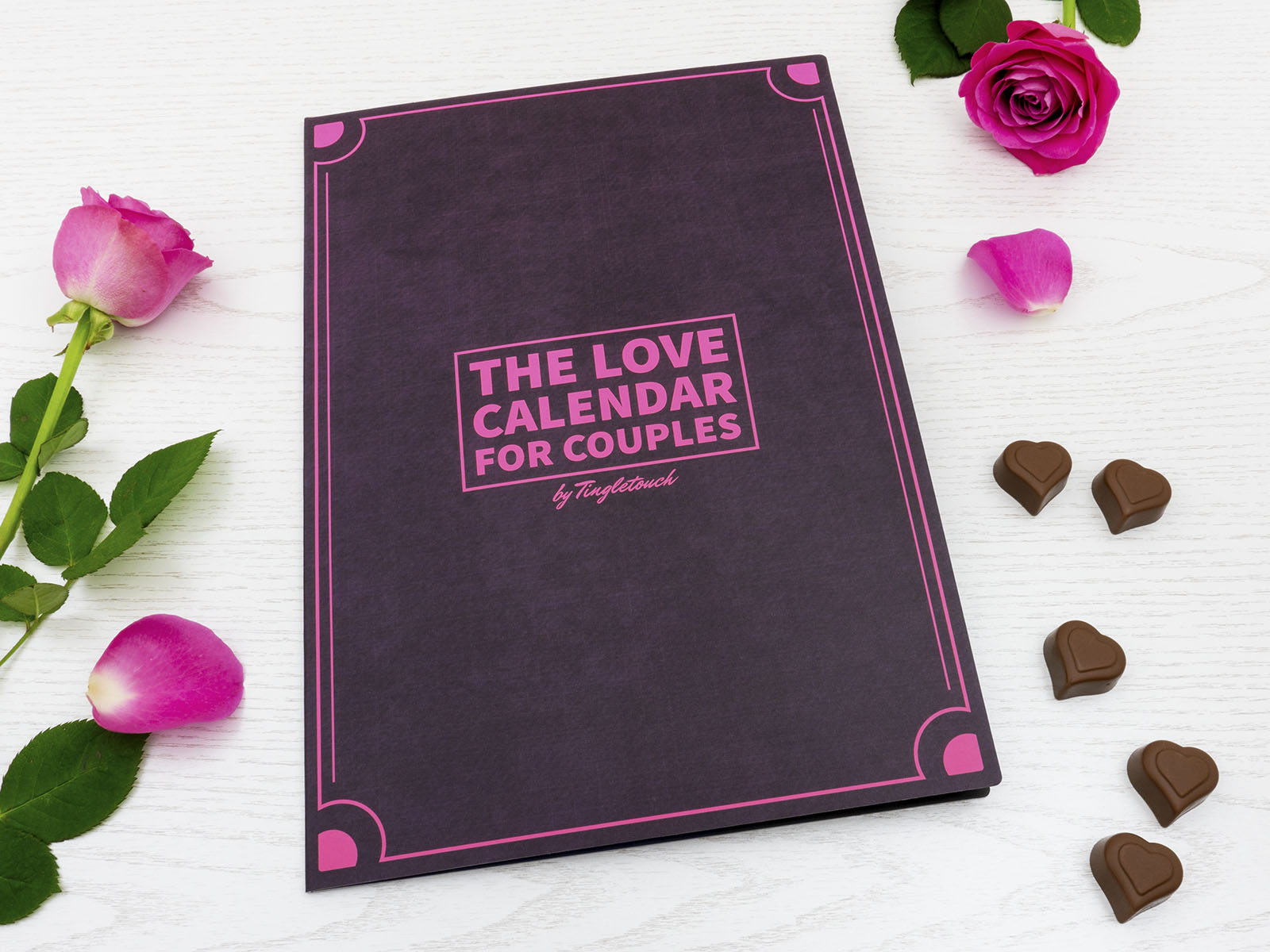The Love Calendar for Couples - Front